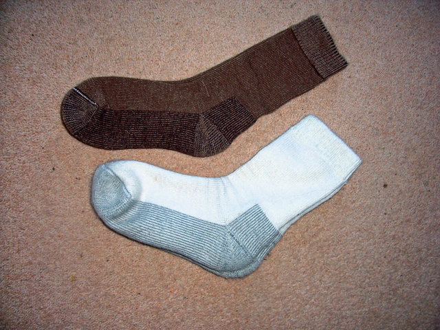 Our new socks made from our own Windrush Alpaca fleece
