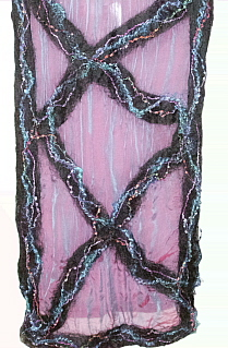 Part of the Nuno Felted Scarf I Created