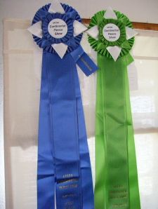 Our Latest Ribbons From The AFCNA Continental Fleece Show