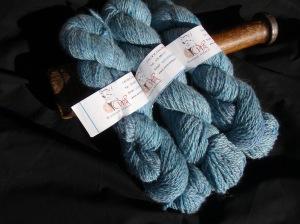Windrush Alpacas Blue Swirl Alpaca/Bamboo Yarn
