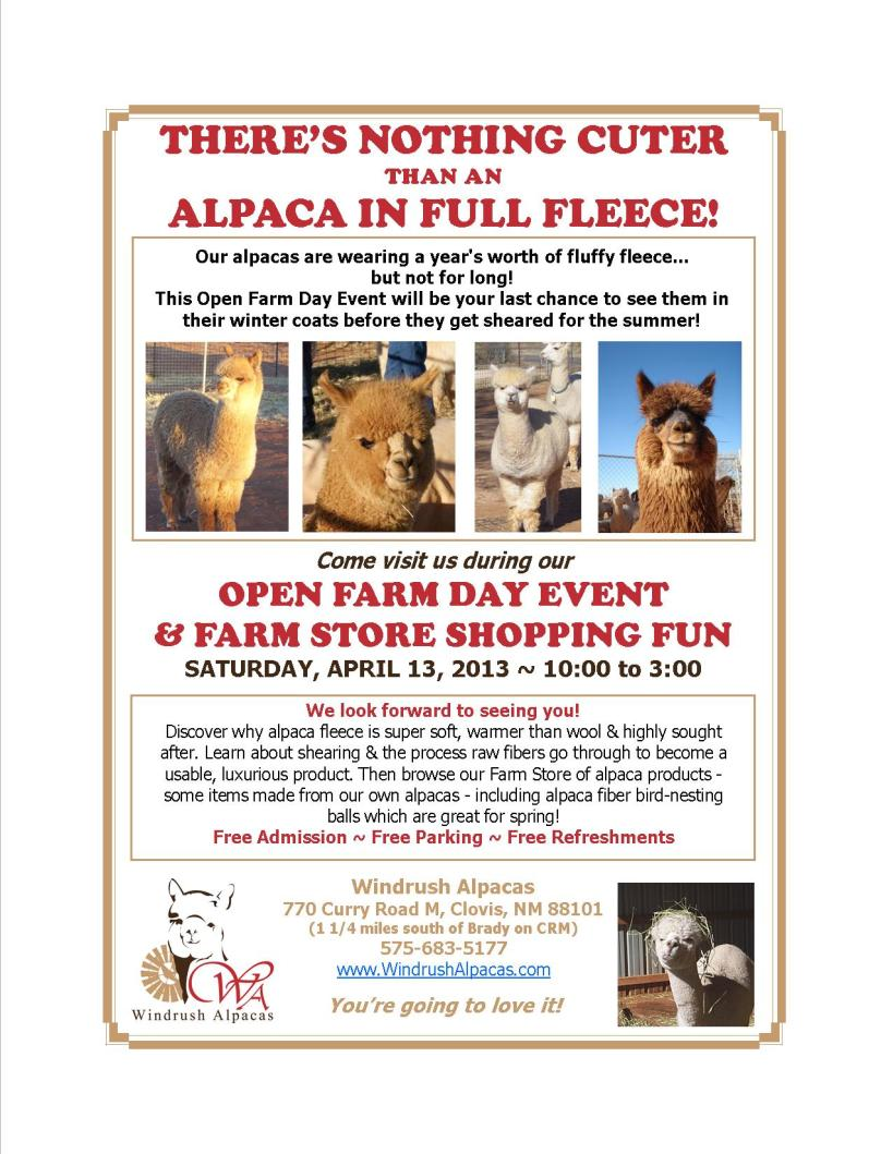 4.13.13 Farm Day flyer