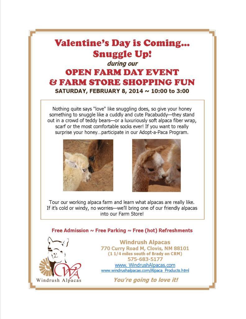 2.8.14 Farm Day flyer