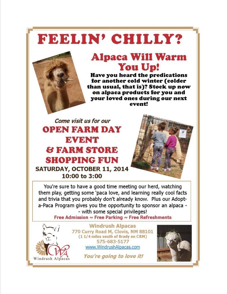 10.11.14 Farm Day flyer