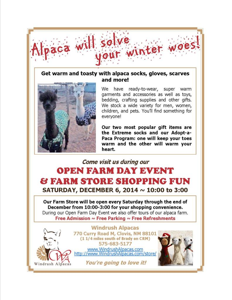 12.6.14 Farm Day flyer