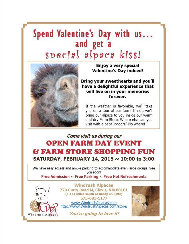 2.14.15 Farm Day flyer