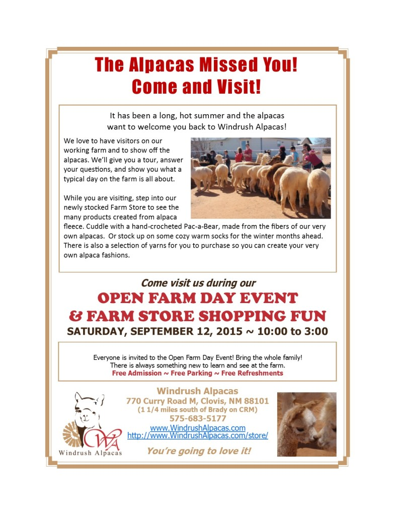 9.12.15 Farm Day flyer