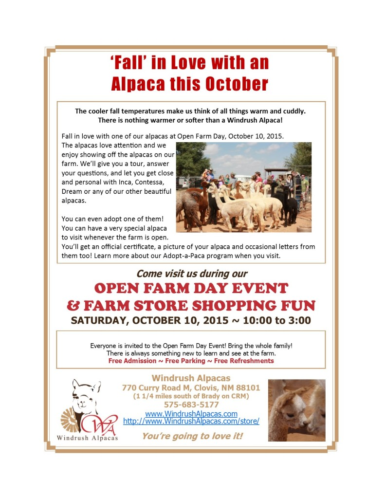 10.12.15 Farm Day flyer
