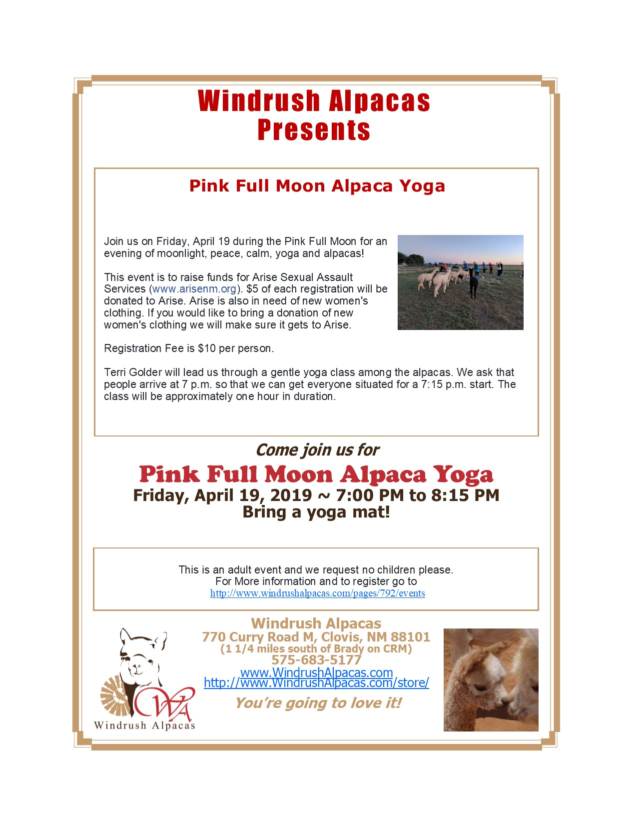 04.19.19 Full Moon Yoga Flyer